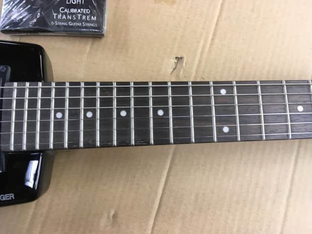 Steinberger Spirit Gt Pro Deluxe Electric Guitar Black