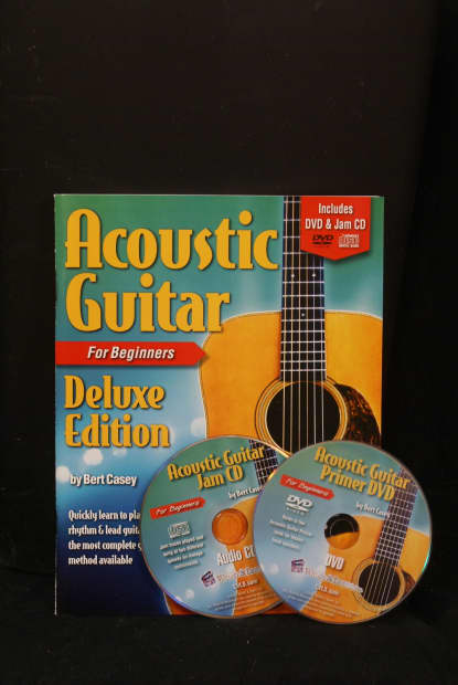 watch learn acoustic guitar deluxe edition primer book reverb. Black Bedroom Furniture Sets. Home Design Ideas