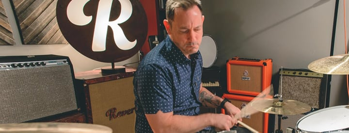 Video: Drum Tricks with Jimmy Chamberlin