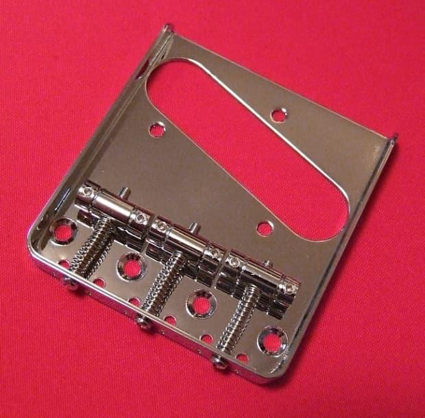 guitar parts telecaster bridge vintage tele 3 saddle top reverb. Black Bedroom Furniture Sets. Home Design Ideas