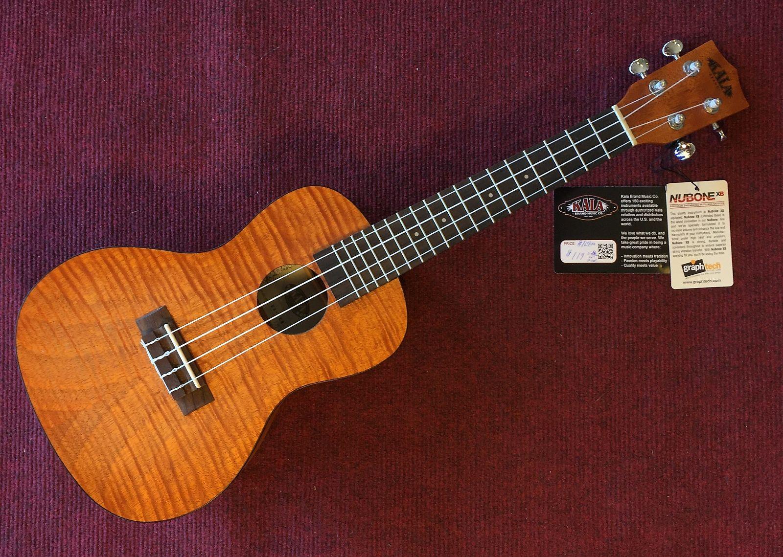 Kala ka cem exotic mahogany series concert ukulele reverb for Porte ukulele