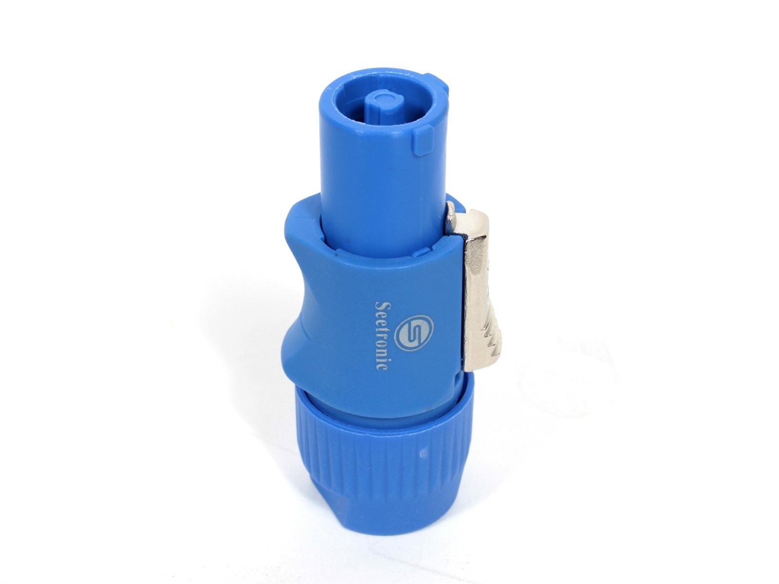 Seetronic SAC3FCA AC Power Connector Blue Connector-Male A