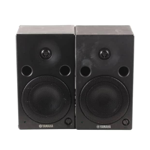 Yamaha msp5 studio powered studio monitor reverb for Yamaha hs80m specs