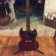 <p>Gibson SG Junior 2011 Heritage cherry</p>  for sale