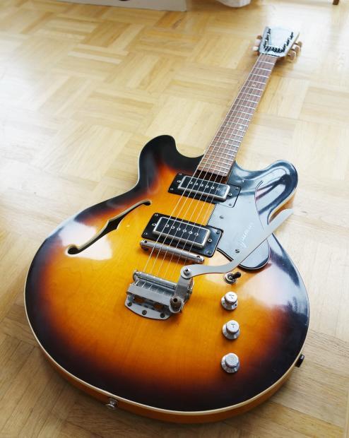 framus atlantic es 335 guitar 1969 german vintage free reverb. Black Bedroom Furniture Sets. Home Design Ideas