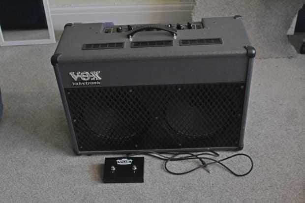 vox valvetronix ad50vt xl 50w guitar amp with 1w valve reverb. Black Bedroom Furniture Sets. Home Design Ideas