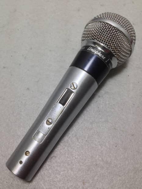 vintage shure unisphere pe56d handheld dynamic cardioid reverb
