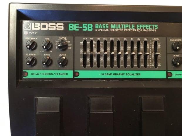 boss be 5b bass multi effects processor rare vintage guitar reverb. Black Bedroom Furniture Sets. Home Design Ideas