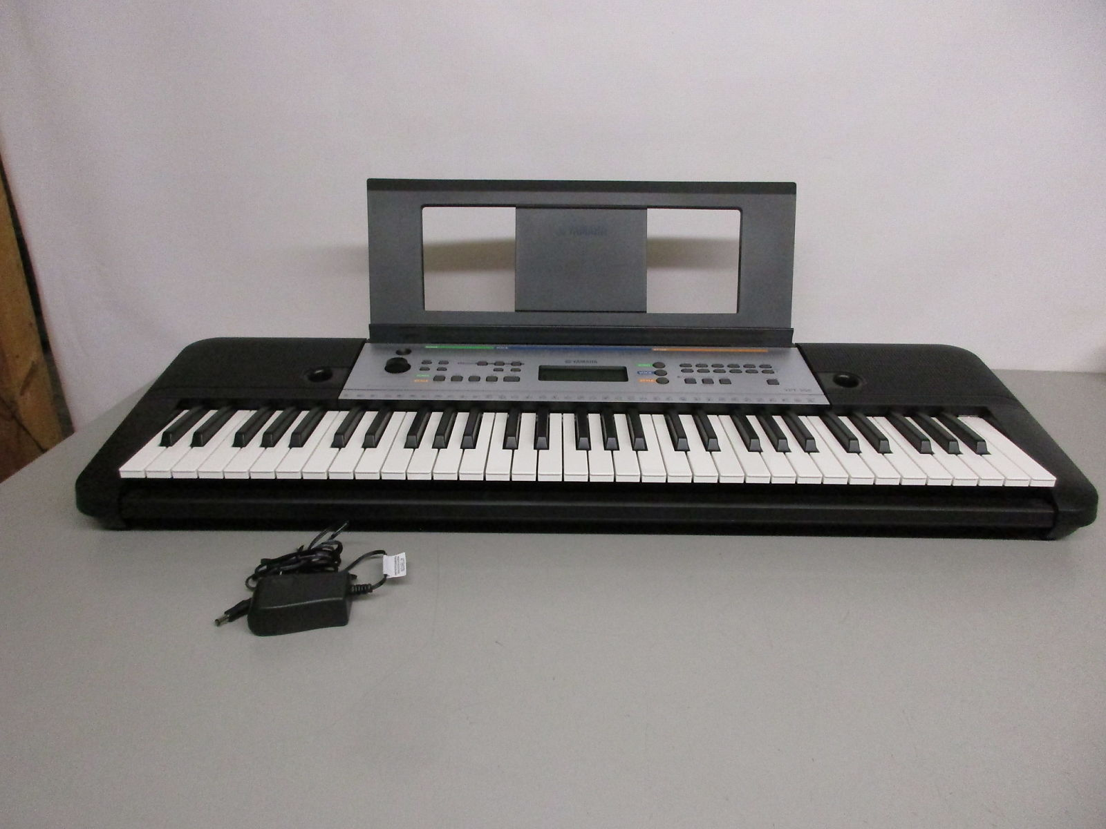 yamaha ypt 255 61 note digital keyboard reverb