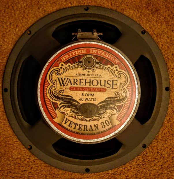 warehouse guitar speakers veteran 30 12 inch 8 ohm reverb. Black Bedroom Furniture Sets. Home Design Ideas