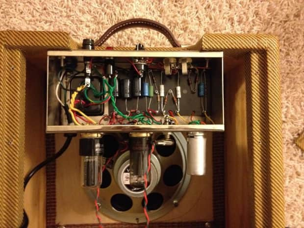 champ 5f1 tweed clone hand wired reverb. Black Bedroom Furniture Sets. Home Design Ideas