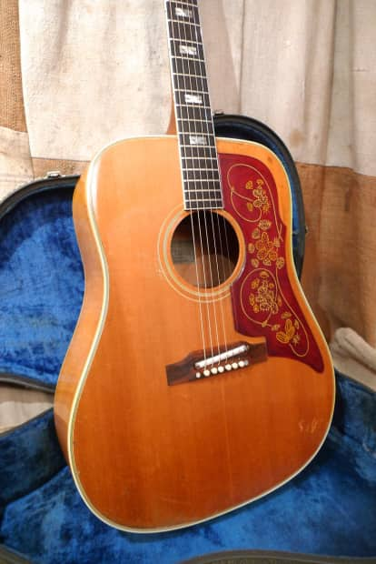 Gibson Auto Sales >> Epiphone FT-110 Frontier 1963 Natural   Reverb