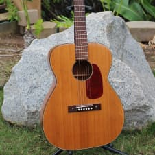 Stunning Vintage 1968 Harmony H-162 Grand Concert 000 Size Acoustic Guitar Restored Player! image