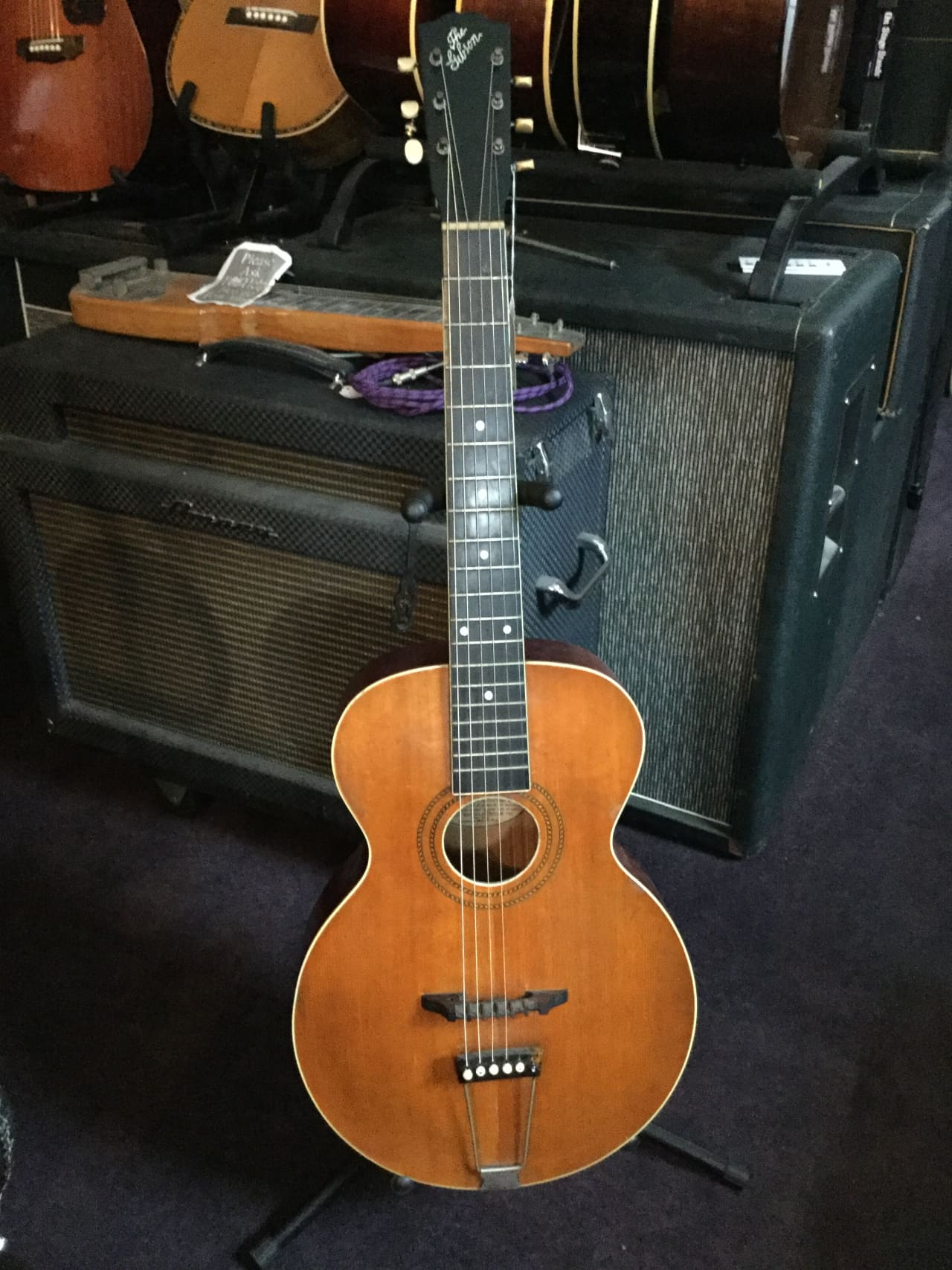 1918 Gibson L-1 Archtop Acoustic Guitar 1918 Natural | Reverb