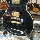 Gibson Custom Shop Les Paul Custom LEFT HANDED 2005 Black Electric Guitar image