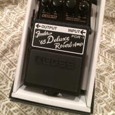 Boss FDR-1 Fender Deluxe Reverb Black image