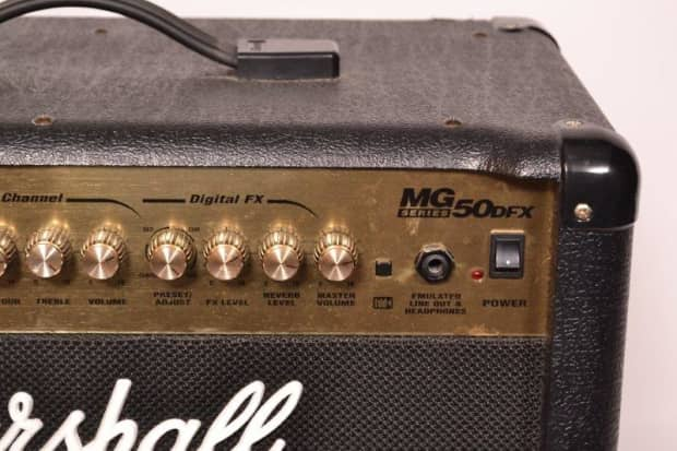 Marshall Mg50dfx 50 Footswitch