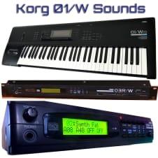 Korg 01/W, 03W/R, 05W/R Sounds image
