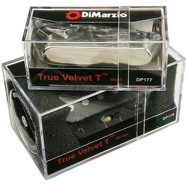 dimarzio true velvet t neck & bridge pickup set for | reverb dimarzio true velvet pickup wiring diagrams