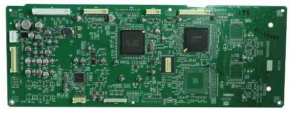 Yamaha wu870600 dm pcb assembly for mox8 reverb for Yamaha mox8 specs