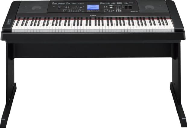 Yamaha dgx 660 2016 88 key digital piano black reverb for Yamaha digital piano philippines