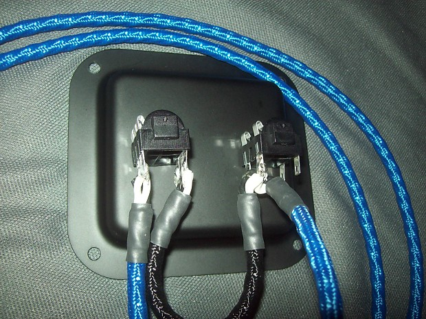 Guitar Amp Speaker Wiring Harness : Earcandy premium quad guitar or bass amp speaker cab