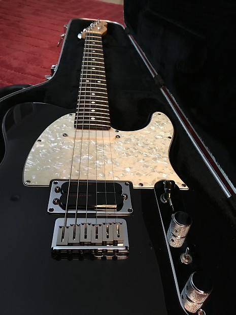 Fender Telecaster Plus 1995 Black With Pearl Pickguard