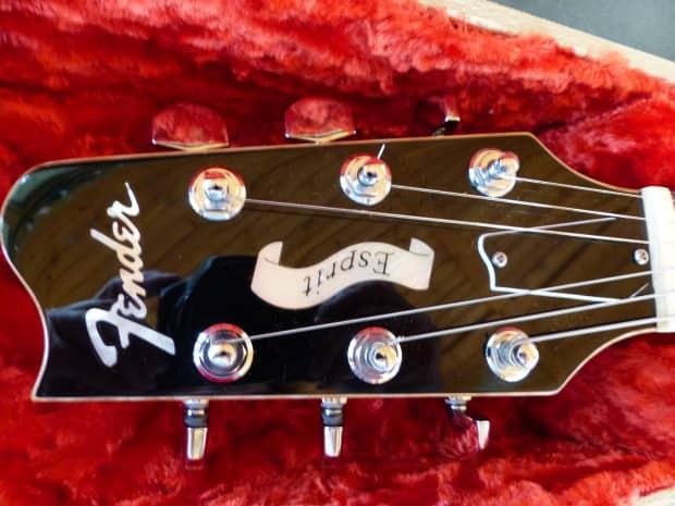 Fender Greg Fessler Masterbuilt Esprit Elite Robben Ford