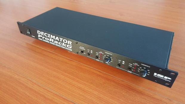 Isp Decimator Pro Rack G Reverb