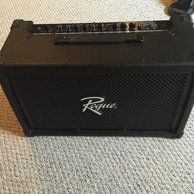 rogue rogue sc40r 40w 2x8 stereo chorus guitar combo amp reverb. Black Bedroom Furniture Sets. Home Design Ideas
