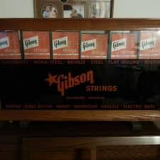 Gibson 1950s Dealer String Display/Sales Cabinet image