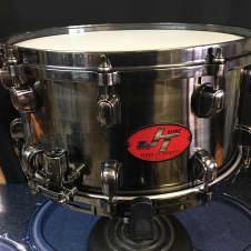 "Tama JT147 7x14"" John Tempesta Signature Brass Snare Drum Black NIckel image"
