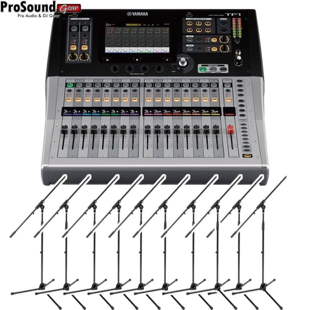 Yamaha tf1 16 channels digital mixing console 10 reverb for Yamaha digital console