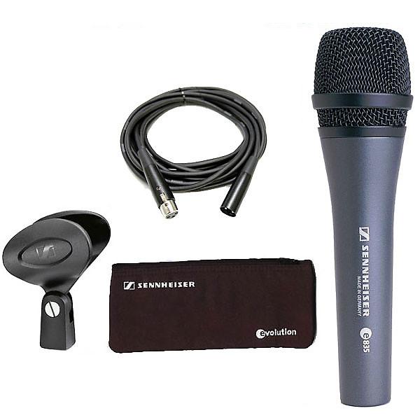 sennheiser e835 live vocal microphone reverb. Black Bedroom Furniture Sets. Home Design Ideas