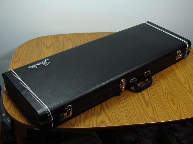 fender strat tele vintage tolex hardshell case stratocaster telecaster guitar reverb. Black Bedroom Furniture Sets. Home Design Ideas