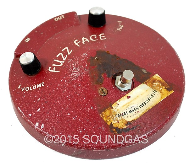 dunlop fuzz face dating Check out jimi hendrix's gear and equipment including and a dallas arbiter fuzz face, with marshall there are couple of photos dating circa 1964 of.