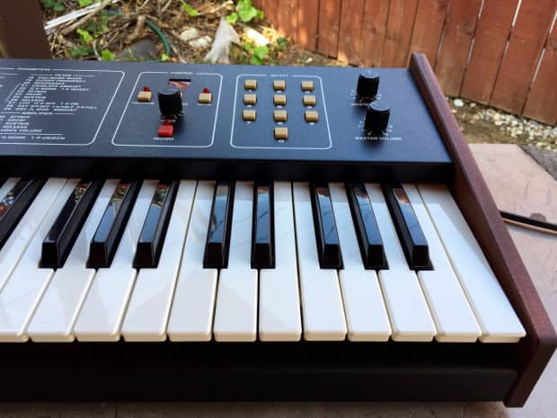 Sequential Circuits Six Trak Vintage Analog Synthesizer