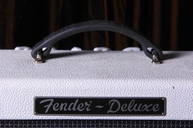 fender hot rod deluxe white lightning reverb. Black Bedroom Furniture Sets. Home Design Ideas