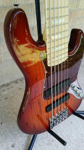 Bass Mods K635 6 String Bass 18v Active K6 Guitar 13lbs