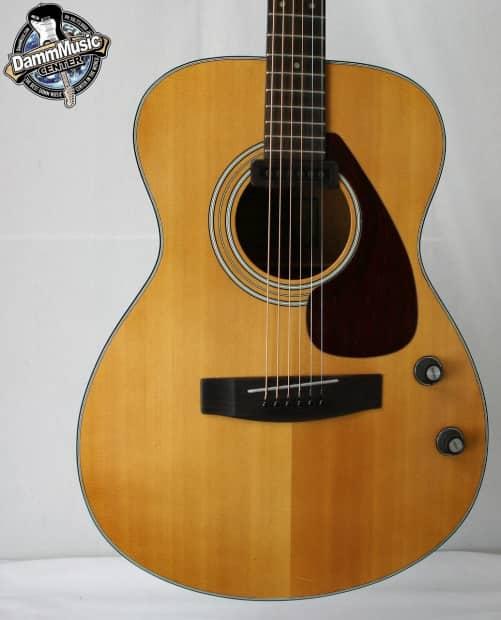 rare vintage yamaha fg 110e acoustic electric guitar reverb On yamaha fg guitar