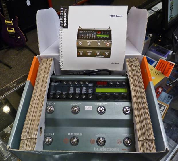 Tc Electronic Nova System W Footswitch Reverb