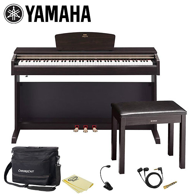 yamaha arius ydp 162 rosewood 88 key digital piano complete reverb. Black Bedroom Furniture Sets. Home Design Ideas