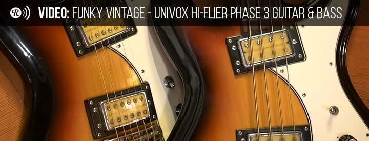 A Brief History of the Univox Hi-Flier Guitar