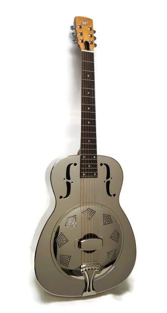 dobro hound dog m 14 metal body resonator guitar reverb. Black Bedroom Furniture Sets. Home Design Ideas