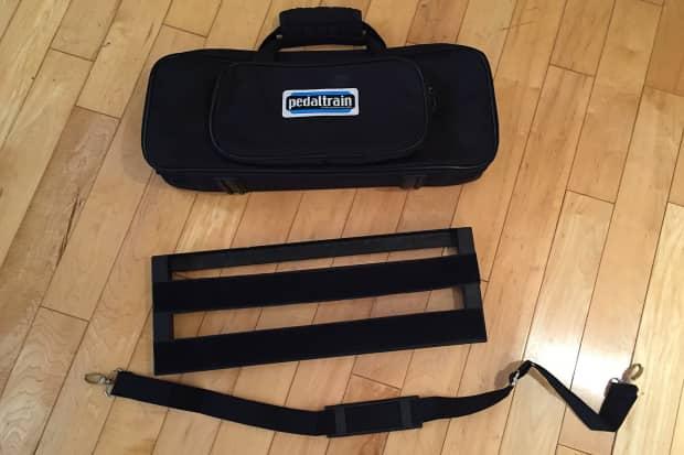 pedaltrain pt mini sc 20 pedalboard w soft case 2014