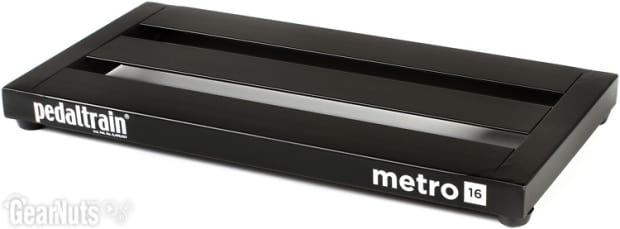 pedaltrain metro 16 16 x8 pedalboard with soft case reverb. Black Bedroom Furniture Sets. Home Design Ideas