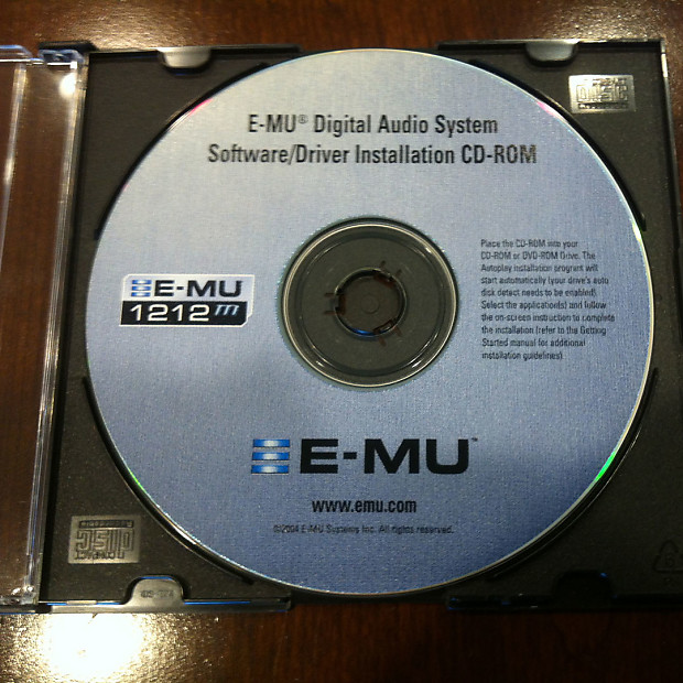 emu 1212m pci software