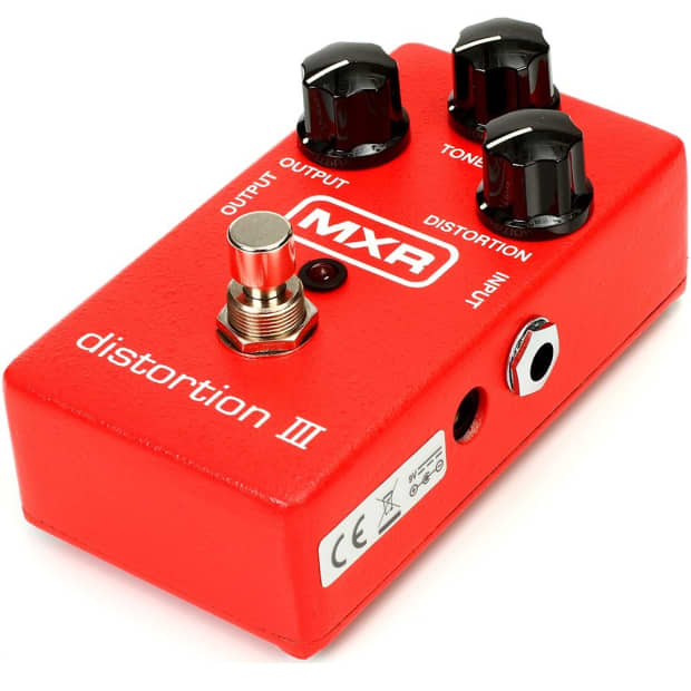mxr m 115 distortion iii guitar effect pedal reverb. Black Bedroom Furniture Sets. Home Design Ideas