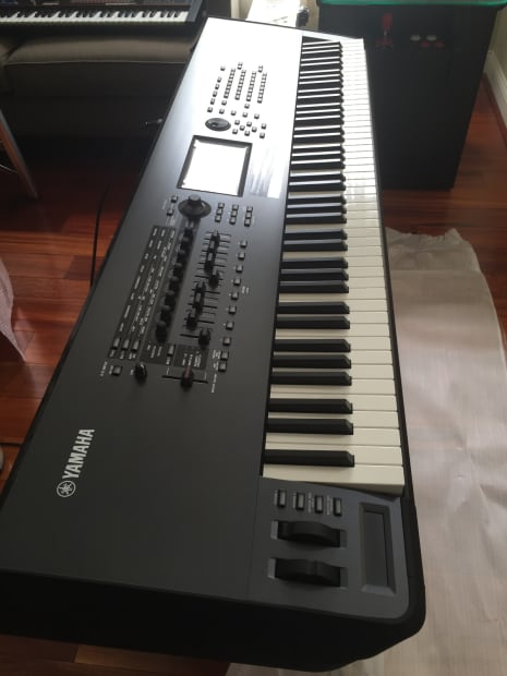 yamaha montage 8 88 note flagship synth mint condition. Black Bedroom Furniture Sets. Home Design Ideas
