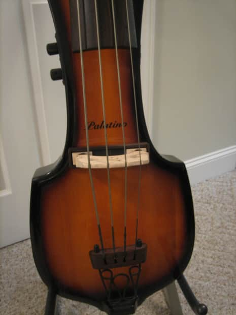 Palatino Ve 500 Electric Upright Bass Stand Up Great
